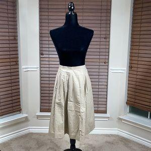 Michael Kors Cotton Flare Skirt